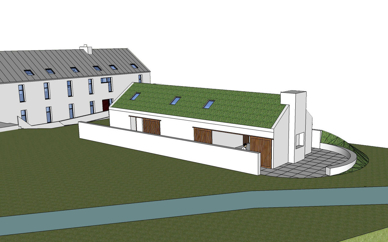 Comber Road Boathouse & Amenity Block 2