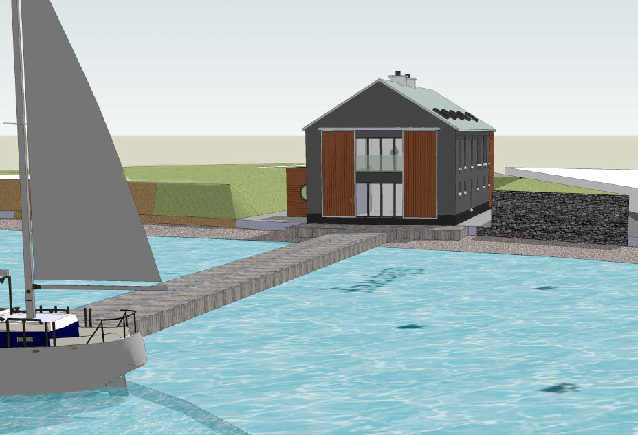Comber Road Boathouse 1